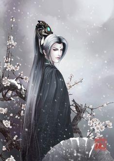 Snow and plum by hazhangzhong  Manga & Anime / Digital Media / Paintings©2009-2015 hazhangzhong      霹雳 玄宗 墨尘音