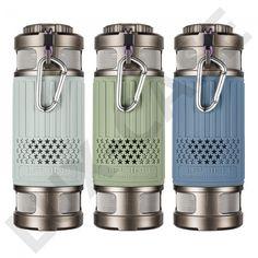 Light Series Damm- & Vattentät Bluetooth Högtalare - Grå - Fri Frakt