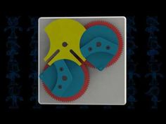 Reciprocating Dwell Time Geneva Mechanism 3D Model - YouTube