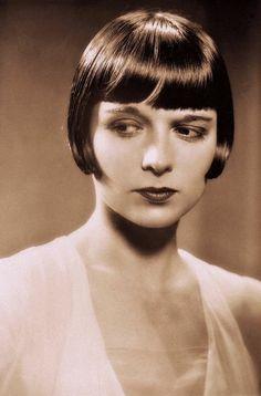 "Louise Brooks in film ""Pandora's Box"" (1929.)"