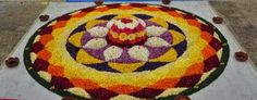 Onam Pookalam – Photos of Floral Designs - Collection of Pictures of Flower Designs!!!