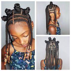 Homepage - Naturally G Updo Bantu knotty girl. Little Girl Braids, Braids For Kids, Girls Braids, Kid Braids, Tree Braids, Lil Girl Hairstyles, Black Kids Hairstyles, Short Hairstyles, Protective Hairstyles
