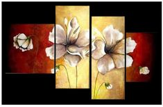 cuadros al oleo 2017 - Saferbrowser Yahoo Image Search Results Multi Canvas Painting, 3 Piece Canvas Art, Acrylic Painting Flowers, Acrylic Painting Tutorials, Diy Painting, Encaustic Art, Alcohol Ink Art, Pallet Art, Art Pictures