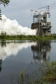South Mississippi was hotter than usual on June 25 when the fire and heat produced by the longest test firing yet of a Space Launch System (SLS) RS-25 rocket engine at NASA's John C. Stennis Space Center combined with already climbing summer temperatures. Engineers conducted a 650-second test of a RS-25 developmental engine as part of its preparation for a return to deep-space missions aboard the new Space Launch System rocket.