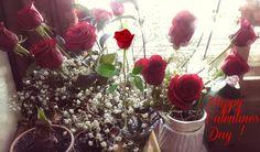 Love Valentines Day flowers.