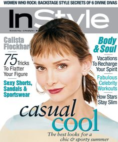 Today is Calista Flockhart's birthday! See her InStyle covers. Soft Autumn Makeup, Fall Makeup, Marie Claire, Vanity Fair, Sexy Librarian, Glow, Instyle Magazine, Cosmopolitan Magazine, Best Lipsticks