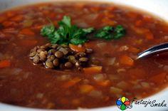 Wegańska zupa z zielonej soczewicy http://fantazjesmaku.weebly.com/wega324ska-zupa-z-zielonej-soczewicy.html