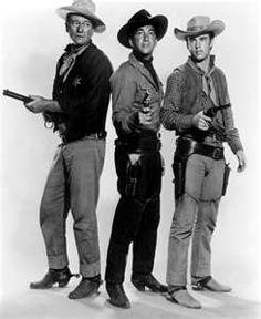 Rio Bravo - starring John Wayne, Dean Martin, Ricky Nelson, Walter Brennan, and Angie Dickinson