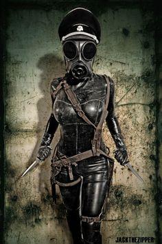 post apocalyptic women | Psycho Mantis
