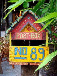 Someone's post box :) Melaka, Malaysia