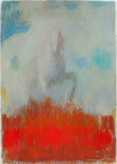 Christopher Le Brun, PRA. Letter to Joshua, oil on canvas, 96x67 inches, 2011. In RA Summer Exhibition