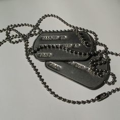 How to Make Your Own Army Dog Tags thumbnail