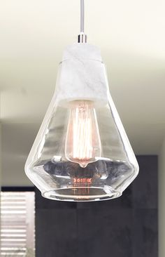ando 1 light pendant with marble lampholder light grey cabling and glass shade beacon lighting pendant lights