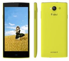 iNew V1 smartphone use 5.0 inch screen, installed Android 4.4 OS, has 1GB RAM + 8GB ROM with MTK6582M 1.3GHZ Quad-Core processor, and 5MP front + 8MP back dual camera.