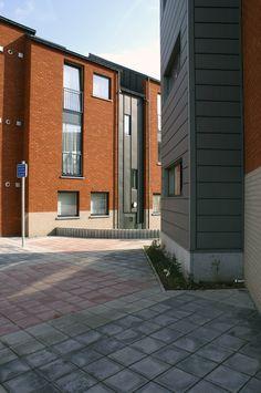 Social housing, Ougrée (Belgium) by Nicolas Prebenna and Eric Gaillard  #VMZINC #Zinc #Belgique #QuartzZinc #SocialHousing #Architecture #Project #Roofing #Facade
