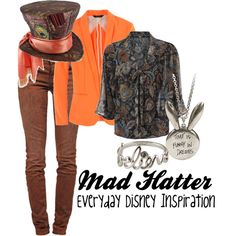 Mad Hatter from Once Upon a Time, created by everydayinspiration1392 on Polyvore
