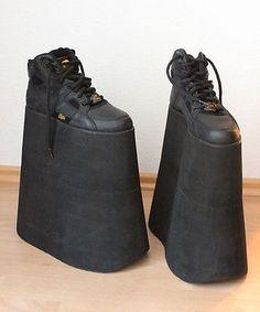 Buffalo Tower Shoes Black