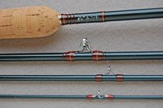 """Page 1 of 3 - Retrograph - posted in Rod Showcase: This rod is a spring creek delight, and almost an exact copy of my old Powell LG, with little more power in the butt... I built this 8'6"""" 3wt like I would a glass rod, with traditional cosmetics. Can't wait to try it on the water."""