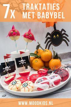 Verantwoord trakteren: 7x babybel traktatie #trakteren #babybel #traktatie #halloween Halloween Diy, Party Favors, Birthday Cake, Blog, Desserts, Tips, New Years Eve, Tailgate Desserts, Deserts