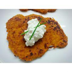 Tortitas de batata Sweet potato Hash brown