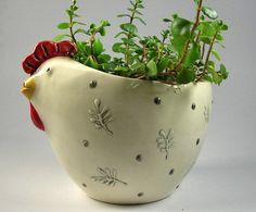 hen planter
