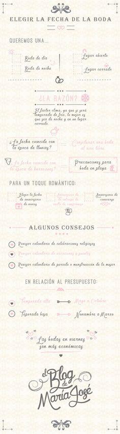 Te damos unos consejos para elegir la fecha de la boda #PlaneacionBodasCali