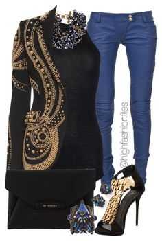 """""""Mischievous"""" by highfashionfiles ❤ liked on Polyvore"""