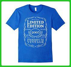 Mens 12th Birthday Gift T-Shirt - Born in 2005 Turning 12 Shirt Medium Royal Blue - Birthday shirts (*Amazon Partner-Link)