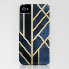 Art Deco Midnight iPhone & iPod Case