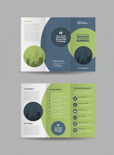 Brochure Design Layouts, Graphic Design Brochure, Graphic Design Posters, Layout Design, Pamphlet Design, Leaflet Design, Company Profile Design, Composition Design, Ui Design Inspiration