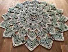 Lily Crochet Doily - Peace Lily - Lace Doily - Spring Decor - Farmhouse Decor - Handmade Doilies - Vintage Home Decor - Wedding Gift Crochet Stitches Patterns, Thread Crochet, Crochet Motif, Crochet Designs, Crochet Crafts, Knit Crochet, Lace Doilies, Crochet Doilies, Crochet Flowers