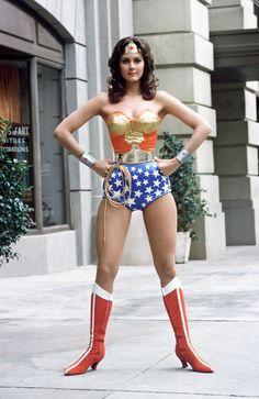 1975 - Linda Carter as Wonder Woman