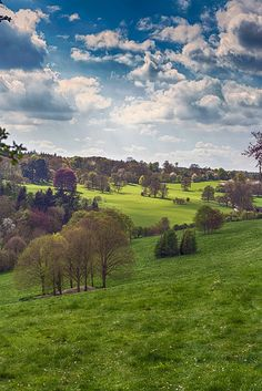 Polseden Lacey, National Trust park & property near Dorking in Surrey England