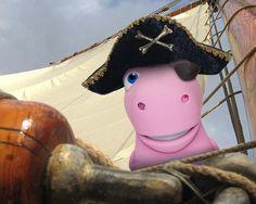 """A classic pirate joke: """"What's a pirate's favorite letter?"""" """"RRRRRRR"""""""