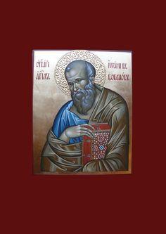 CUSTOM art St. John the Theologian icon hand by ArtByChimevi