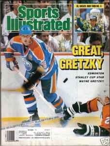 Wayne Gretzky - 1987 Hockey The great one grew up half hour from my home in Hamilton....he really was something very special....extraor. talented and smart as a tack