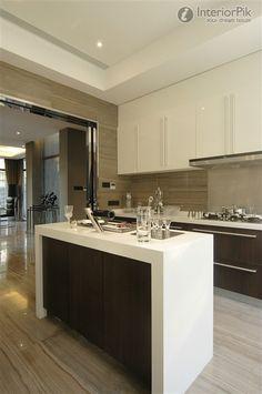 Modern IKEA Kitchen Cabinet renovation renderings