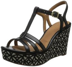 342b7360c50 Clarks Women s Amelia Avery Wedge Sandal Review Fall Clothes
