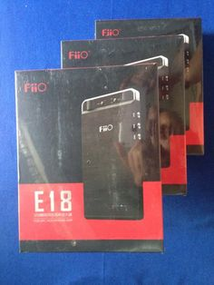 Fiio E18  DAC và AMP cho Android iOS  Free Ship
