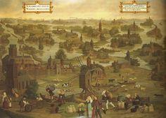 AD 1163 (St Thomas Flood) Saint Nicholas, St Thomas, Holland, Saints, Coast, History, Painting, The Nederlands, Historia