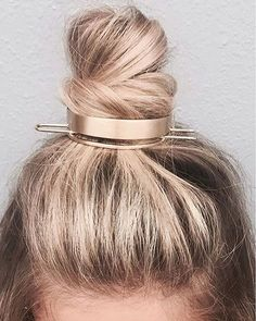 We're #knot surprised our @jenatkinhair x #chloeandisabel Bun Cuff was just named a must-'do for #Fall by @instylemagazine! RG: @shelbydoehrmann #NoMoreHairDonts