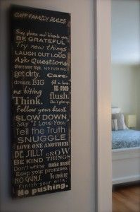 Use chalk on the back of each paper rule printout, and then use a sharp pencil to transfer the word...
