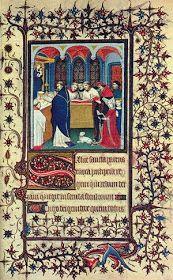 Al principio este Arte lo practicaban únicamente el clero, existió solo en los monasterios. En la ilustración de un manuscrito participaba...