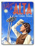 Utah Travel Ads (Vintage Art) Posters, Prints, Paintings & Wall Art for Sale Vintage Ski Posters, Cool Posters, Vintage Signs, Vintage Art, Travel Ads, Vintage Winter, Wall Art For Sale, Sale Poster, Skiing