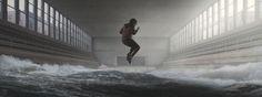 Ocean by Yuri Shwedoff Yuri Shwedoff, Matte Painting, Environment Concept Art, Ocean Art, Framed Art Prints, New Art, Digital Art, Digital Paintings, Illustration Art
