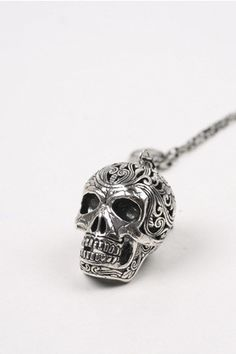 GOOD AS GOLD — MEXICAN SKULL NECKLACE