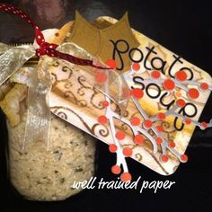 This DIY Potato Soup in a Jar is an easy and thoughtful gift using the Idaho Spuds you already have!