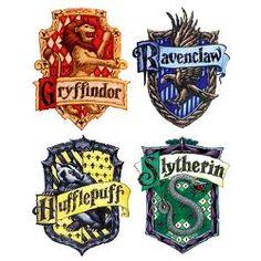 Hogwarts Houses: Gryffindor, Ravenclaw, Hufflepuff, and Slytherin. Baby Harry Potter, Harry Potter Casas, Natal Do Harry Potter, Harry Potter Fiesta, Harry Potter Thema, Arte Do Harry Potter, Theme Harry Potter, Harry Potter Baby Shower, Harry Potter Drawings