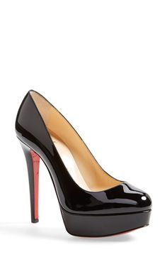 Christian Louboutin Bianca Platform Pump available at #Nordstrom
