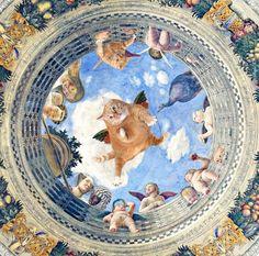 gato gordo em diversas obras de arte famosas (6)
